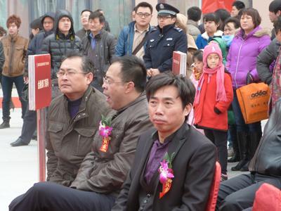 殷德军副会长参加青岛庆典