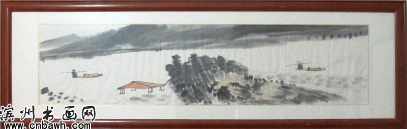 刘云-四尺长条-山水