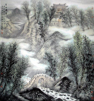 青岛胶南海右书画艺术研究院坐落于山水名城·琅琊古郡-青岛